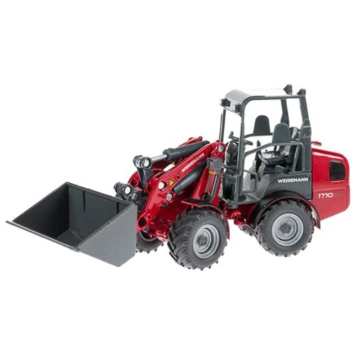 Купить Погрузчик Siku Мини-Weidemann 1770 CX50 (3059) 1:32 15 см красный, Машинки и техника