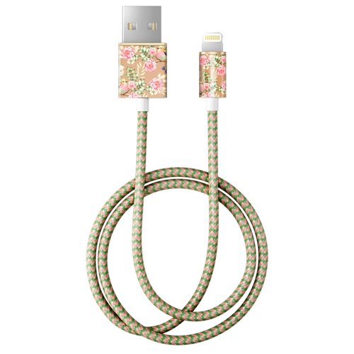 Кабель iDeal of Sweden Fashion USB - Lightning 1 м champagne birds клип кейс ideal iphone x champagne birds
