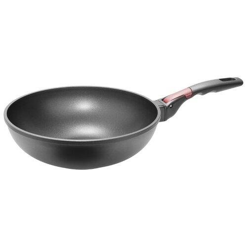 Сковорода-вок Nadoba Vilma 728222 28 см, черныйСковороды и сотейники<br>