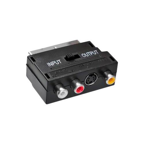 Переходник Buro SCART - S-Video / 3 x RCA (BSP005) 0.01 м