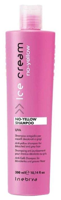 INEBRYA шампунь Ice Cream No-Yellow для осветленных или седых волос