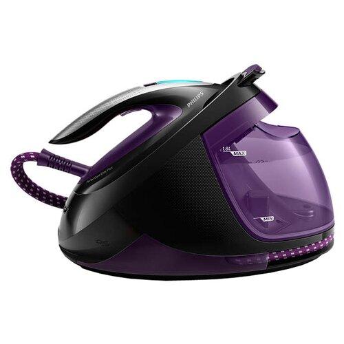 цена на Парогенератор Philips GC9675/80 PerfectCare Elite Plus фиолетовый/черный/серебристый