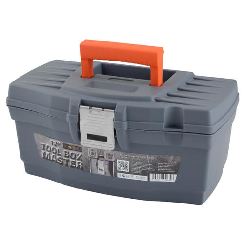 Ящик BLOCKER Master Solid BR3900 32 х 18.5 x 15.2 см 12 серый/свинцовыйЯщики для инструментов<br>