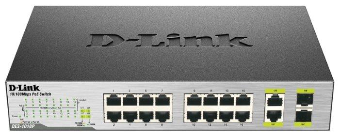 D-link Коммутатор D-link DES-1018P