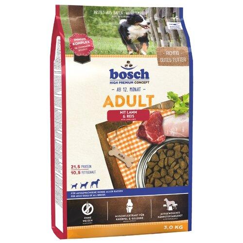 Сухой корм для собак Bosch Adult ягненок 3 кг
