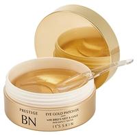 It'S SKIN Гидрогелевые патчи для глаз с экстрактом гнезда ласточки и коллоидным золотом Prestige BN Eye Gold Patch EX