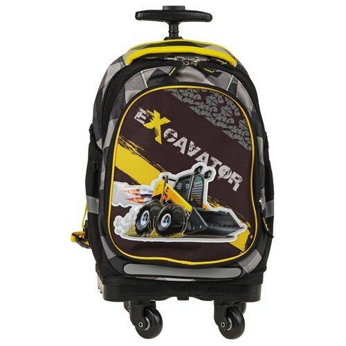 Купить Target Рюкзак-тележка Экскаватор 2 (17934), черный/серый/желтый, Рюкзаки, ранцы