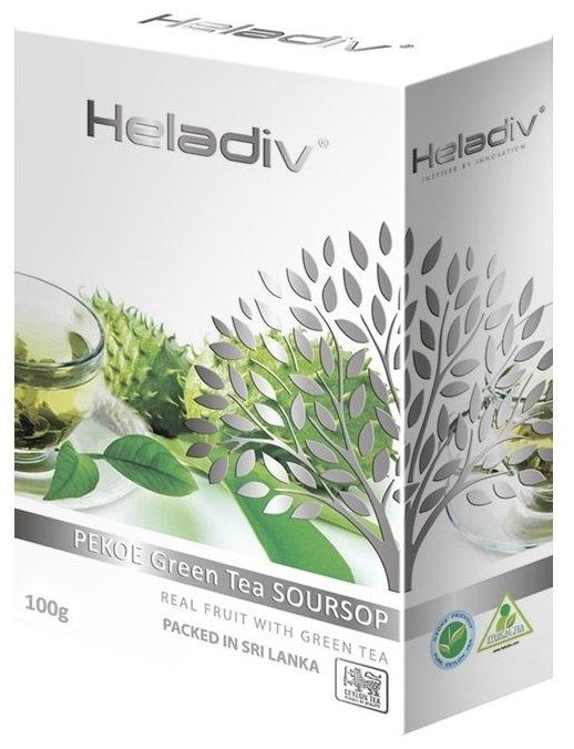 Чай зеленый Heladiv SOURSOP - купить в Москве по выгодной цене