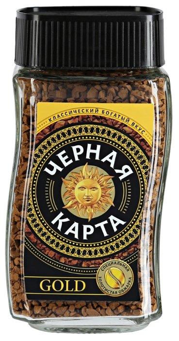 Растворимый кофе Черная Карта Gold 47,5г