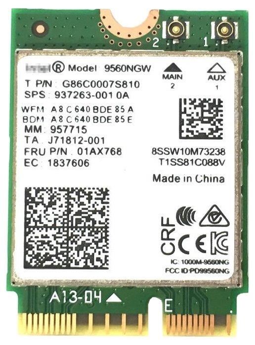Bluetooth+Wi-Fi адаптер Intel 9560NGW.AC