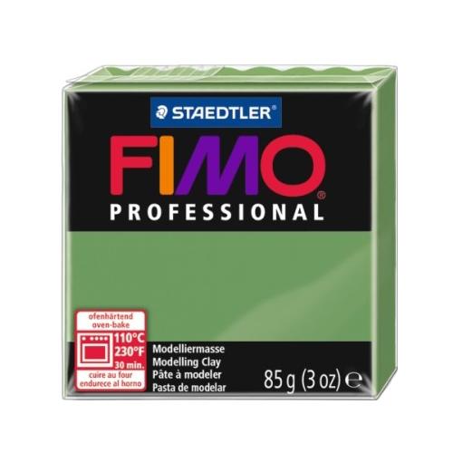 Полимерная глина FIMO Professional запекаемая 85 г зеленый лист (8004-57)Глина<br>