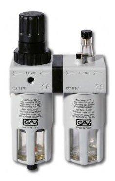 Фильтр/редуктор/лубрикатор GAV FRL-200 (7539) 14 атм , 1/2F , 1/2F