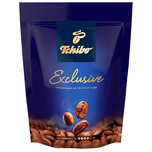 Кофе растворимый Tchibo Exclusive, пакет, 150 г tchibo exclusive decaf кофе растворимый 100 г