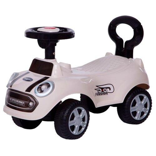 Купить Каталка-толокар Baby Care Speedrunner (616B) со звуковыми эффектами белый, Каталки и качалки