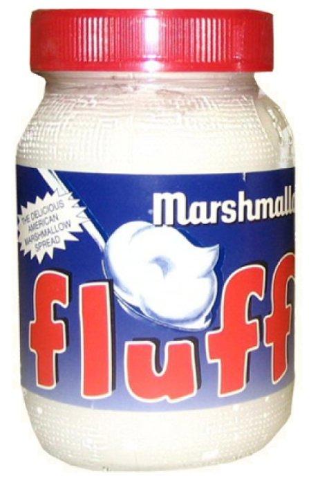 Кремовый зефир Fluff Marshmallow с ванильным вкусом, 213 г