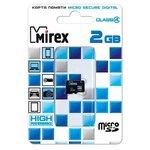 Карта памяти Mirex microSD Class 4