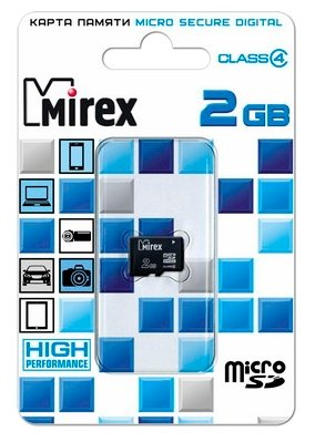 Карта памяти Mirex microSD Class 4 2GB — купить и выбрать из более, чем 8 предложений по выгодной цене на Яндекс.Маркете