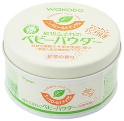 Wakodo Присыпка с экстрактом зеленого чая Siccarol Natural