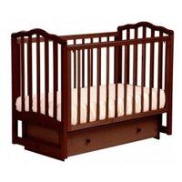 Детская кроватка Кубаньлесстрой Лель Жасмин АБ 19.2 светлый орех