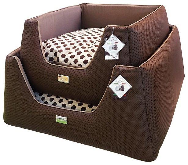 Лежак для собак Anteprima Ghibli M 60х60х33 см