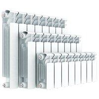 Радиатор секционный биметаллический Rifar Base 500 x4 500/100 , теплоотдача 816 Вт 4 секций , подключение седельное