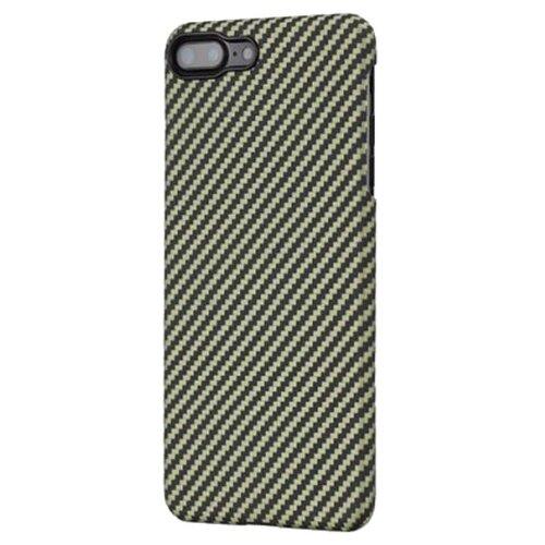 Чехол-накладка Pitaka MagCase (арамид) для Apple iPhone 7 Plus/8 Plus Black/Yellow Twill аксессуар чехол neypo soft touch для apple iphone 8 plus 7 plus black st02111