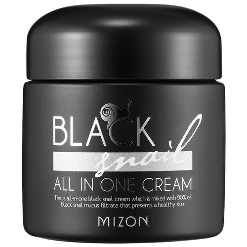 Купить Mizon Black Snail All in one Cream Крем для лица с экстрактом черной улитки, 75 мл