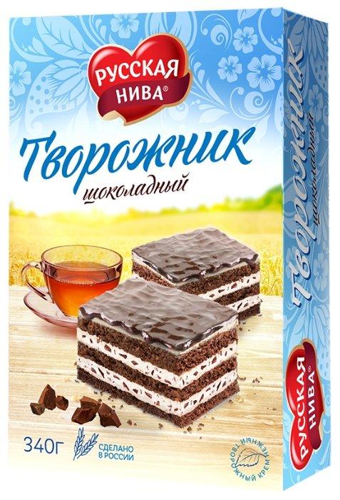 Торт Русская нива Творожник шоколадный