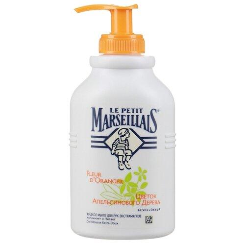 Мыло жидкое Le Petit Marseillais Цветок апельсинового дерева 300 мл с дозатором бутылкаМыло<br>