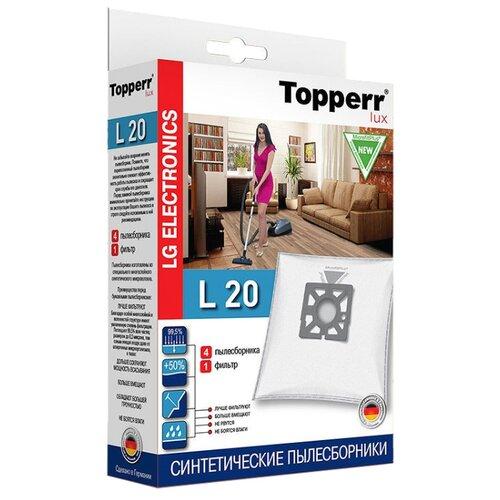 Topperr Синтетические пылесборники L20 4 шт. недорого