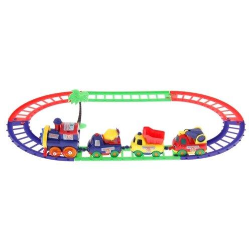 Купить Играем вместе Стартовый набор Паровозик из Ромашково , B199134-R1, Наборы, локомотивы, вагоны
