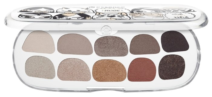 Essence Тени для век Million nude faces Eyeshadow box