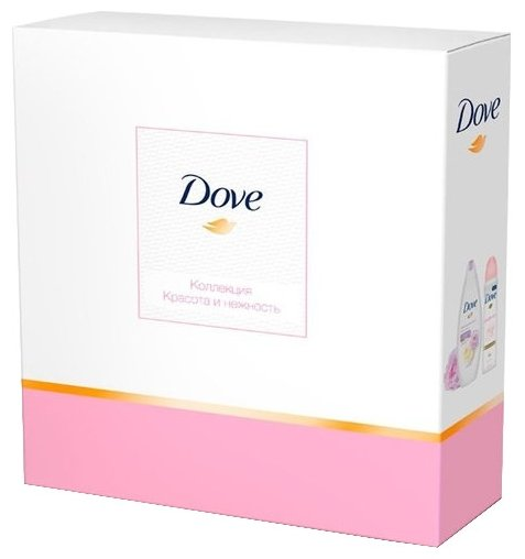 Набор Dove Коллекция Красота и нежность: крем-гель для душа, антиперспирант-спрей