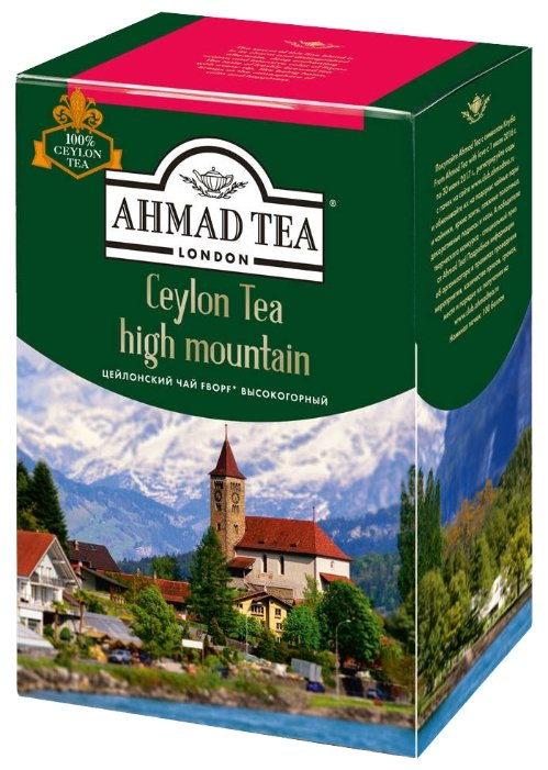 Чай черный Ahmad tea Ceylon tea F.B.O.P.F. high mountain, 100 г