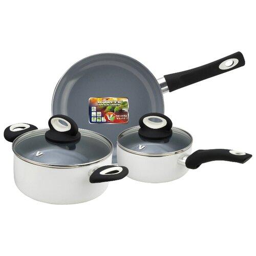 Набор посуды Vitesse VS-2906 5 пр. белый набор посуды vitesse vs 2901 4