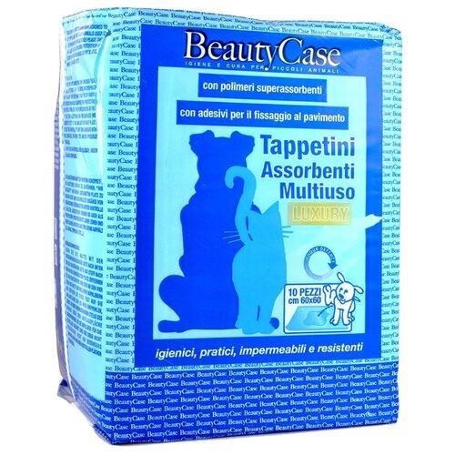Пеленки для собак впитывающие Beauty Case С повышенной впитываемостью и с фиксацией к поверхности 60х60 см 10 шт.