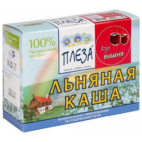 Фото - ПЛЕЗА Каша льняная вкус Вишня (коробка), 200 г беби ситтер каша ячменная с 4 месяцев 200 г