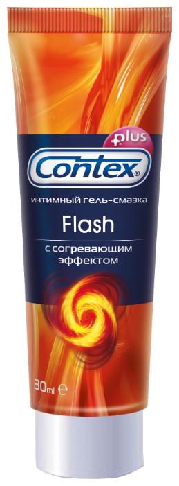Гель-смазка Contex Flash с согревающим эффектом