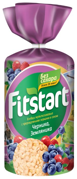 Хлебцы мультизлаковые FITSTART Черника, Земляника 100 г