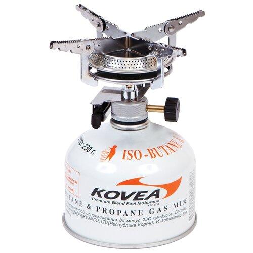 Горелка KOVEA KB-0408 Hiker Stove серебристый плита kovea tkr 9507
