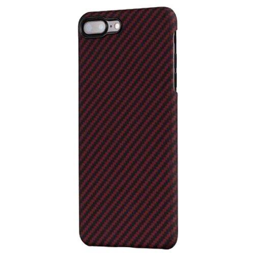 Чехол Pitaka MagCase (арамид) для Apple iPhone 7 Plus/8 Plus Black/Red TwillЧехлы<br>