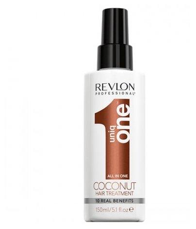 Revlon Professional Uniq One Несмываемая маска-спрей для волос с ароматом кокоса
