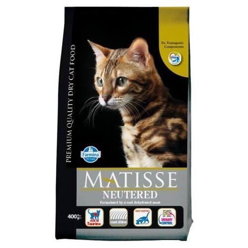 Корм для стерилизованных кошек Farmina Matisse 400 г корм консервированный для кошек farmina matisse мусс с ягненком 85 г