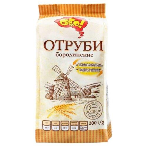 Отруби ОГО! ржаные бородинские, 200 г
