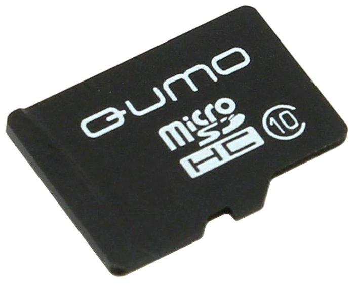 Карта памяти Qumo microSDHC class 10