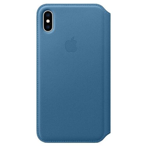 Купить Чехол Apple Folio кожаный для iPhone XS Max cape cod blue