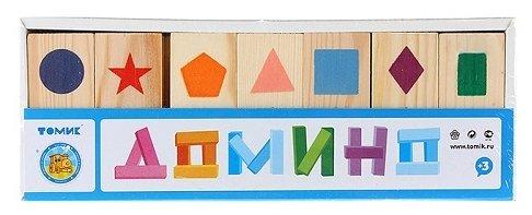 Настольная игра Томик Домино Геометрические фигуры