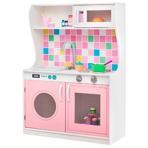 Купить Кухня PAREMO Алвеоло Роуз Мини PK218-15 светло-розовый, Детские кухни и бытовая техника