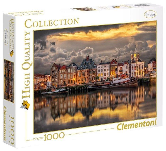 Пазл Clementoni High Quality Collection Голандские домики (39421), 1000 дет.