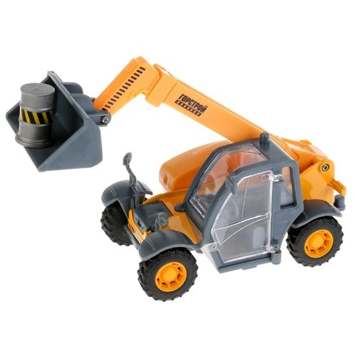 цена Погрузчик ТЕХНОПАРК SB-17-76WB 15 см оранжевый/серый онлайн в 2017 году